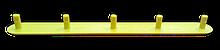 Noname Направляющая тактильная полоса ПВХ со штифтом арт. ДС19542