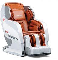 Yamaguchi Вендинговое массажное кресло Yamaguchi YA-6000 Axiom (бело-рыжее) арт. UM21063