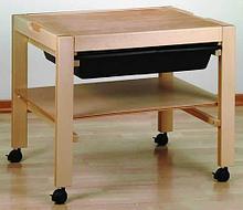 Noname Игра тактильная «Рисуем на песке»: стол для работы с песком арт. RN18044