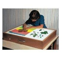 Noname Игра тактильная «Рисуем на песке»: ящик с подсветкой арт. RN18045
