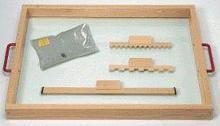 Noname Набор для пескотерапии расширенный «Рисуем и играем на песке» арт. RN23156