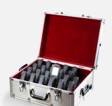 Noname Металлический кейс для подзарядки и дезинфекции мультимедийных аудиогидов «C7», на 22 слота арт.