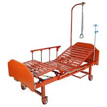 Noname Медицинская кровать Е-8 MM-18Н (2 функции) ЛДСП с полкой и обеденным столиком арт. МдТМ24616