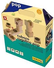 Cuboro Деревянный конструктор Куборо Куголино Поп (cuboro cugolino pop) арт. Cub20313