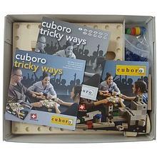 Cuboro Игровой настольный набор Cuboro «tricky ways» (деревянный) арт. Cub24357