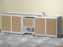 АсБелМед Комплект мебели из пяти модулей ASBEL-1 арт. 10409