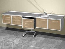 АсБелМед Комплект мебели настенный ASBEL-N1 арт. 10417
