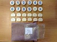 Noname Комплект фишек для «Сенсино»: цифры и знаки арт. RN23088