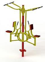 Noname Уличный тренажер  «Тяга вертикальная + тяга горизонтальная двойная» ТУ-14 арт. PrG25092