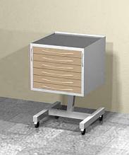 АсБелМед Передвижной столик AS-16.1 арт. 10495