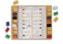 Noname Палитра прямоугольная: карточки. Английский язык арт. RN9806