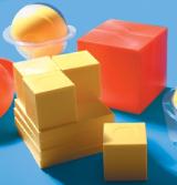 Noname Объемные представления дробей в виде шаров и кубов арт. RN9829