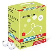 START LINE CLUB SELECT 1*, 120 мячей в упаковке, белые арт. AQ17475