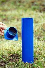 АКВЕЛЛА Стойка волейбольная в стаканах с крышками без механизма натяжения арт. AQ17487