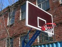 АКВЕЛЛА Щит баскетбольный игровой на металлической раме (ламинированная фанера) 1800х1050 мм арт. AQ17495