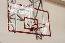 АКВЕЛЛА Щит баскетбольный игровой на металлической раме 1800х1050мм оргстекло арт. AQ17496