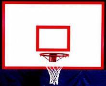 АКВЕЛЛА Щит баскетбольный игровой на металлической раме 1800х1050мм фанера арт. AQ17497