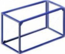 АКВЕЛЛА Ферма баскетбольная вынос 0,5 для щита 1200х900 мм арт. AQ17505