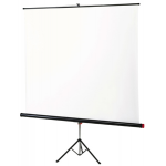 Noname Экран на штативе 125х125 cм Braun Standard (white/silver с антибликовым покрытием) арт. RN17042