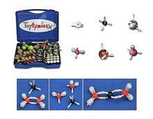 Noname Набор для моделирования молекул (магнитный) (в комплекте молекулы Fe, Zn, Cu) арт. RN24762