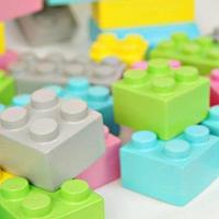Noname Конструктор из крупных мягких блоков WISE 1 (50 эл-тов, 5 пастельн.цветов) арт. RN23095