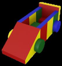 Noname Конструктор «Машина» (10 деталей) арт. DmL23785