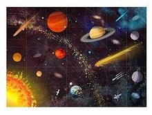 Noname ЛогоРобот Пчелка: Коврик «Космос» арт. RN24767