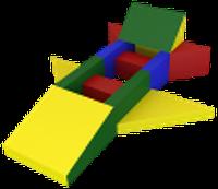 Noname Конструктор «Самолет» (13 деталей) арт. DmL23790
