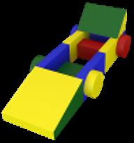 Noname Конструктор «Машина гоночная» (14 деталей) арт. DmL23792