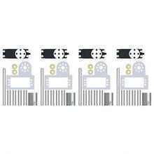LEGO Набор сервоприводов X (4 шт.) TETRIX MAX арт. RN24390
