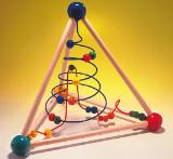 JoyToy Лабиринт проволочный настольный (треугольная пирамида) арт. RN16972
