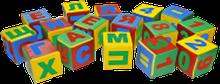 Noname Набор дидактических кубиков арт. DmL23819