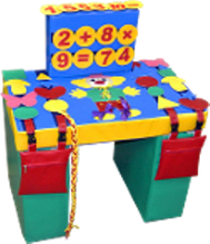Noname Стол дидактический игровой, мягконабивной арт. DmL23824