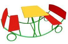 Noname Стол уличный с 2-мя скамейками арт. DmL23724