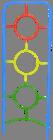 Noname Игровой комплекс - мишень «Светофор» арт. DmL23771