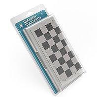 """""""Шашки-Шахматы"""" в серой пластиковой коробке (большие), фото 1"""