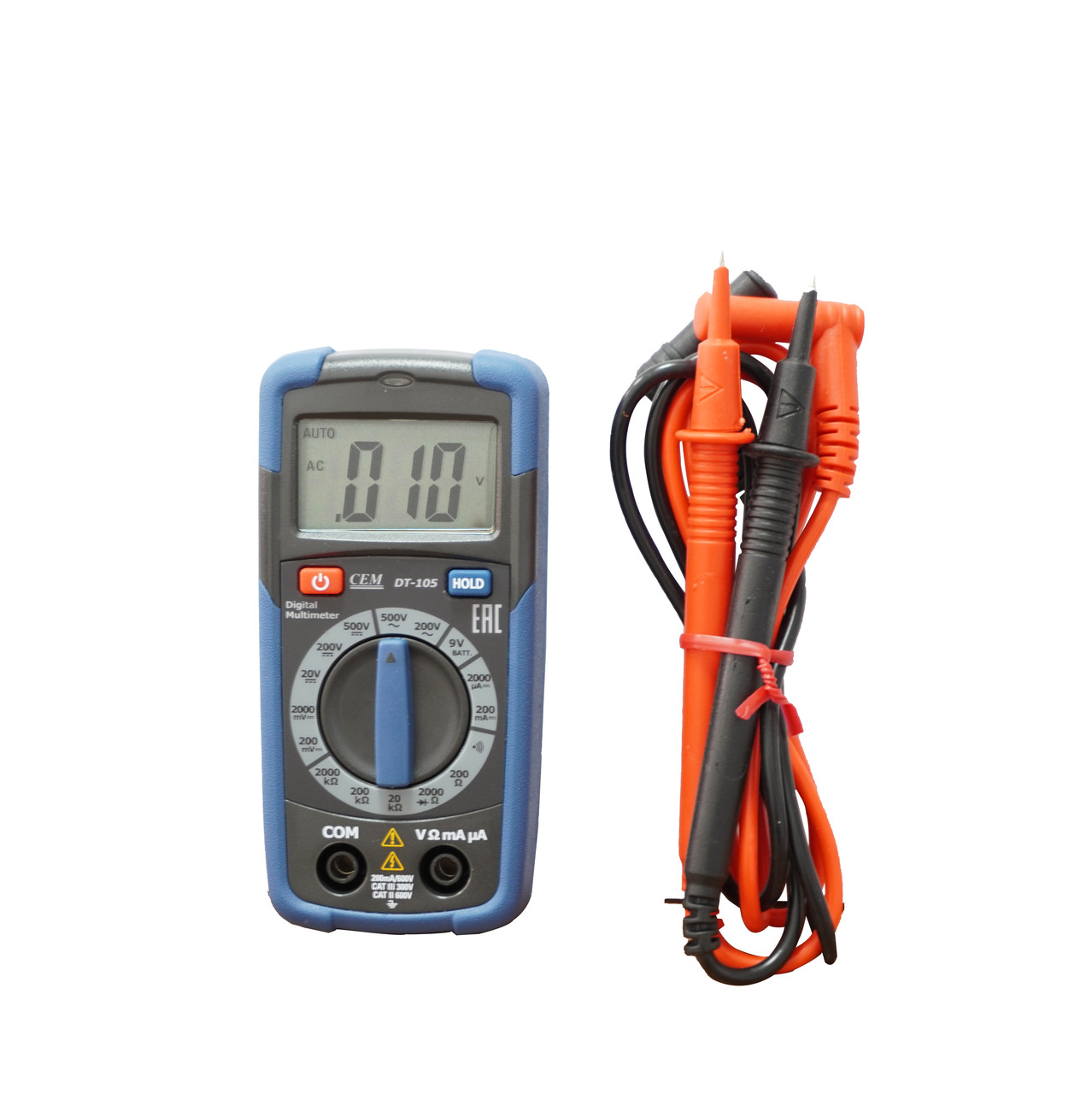 DT-105 Мультиметр цифровой