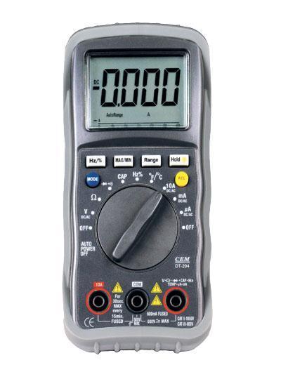 DT-202 Мультиметр цифровой