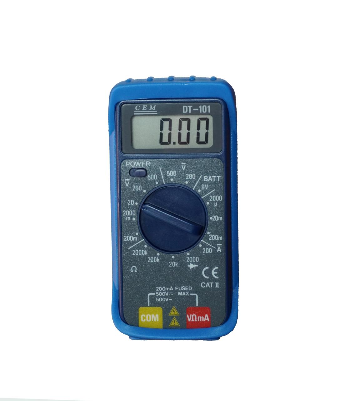DT-101 Мультиметр цифровой