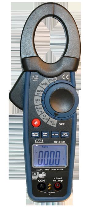 DT-3368 Клещи электроизмерительные True RMS