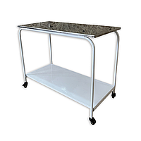 Передвижной столик медицинский металлический