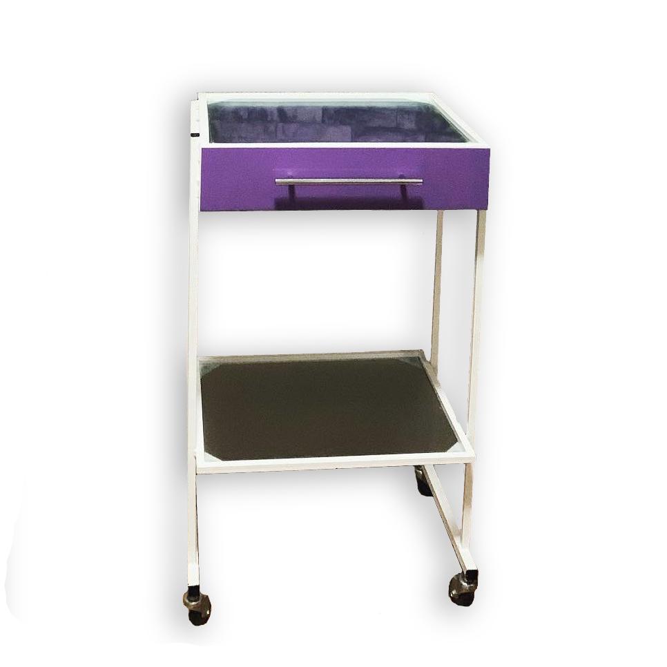 Столик медицинский передвижной со встроенным лотком