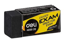 """Ластик DELI """"Exam"""", черный (33х15х12 мм)"""