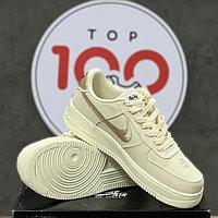Кроссовки Nike Air Force 1 Stussy X