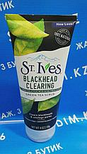 St.Ives Blackhead Clearing Green Tea Scrub 170 гр. - Скраб для лица на основе зеленого чая