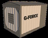 Блок контейнер металлический для ДГУ 4000х2300х2500