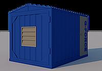 Блок контейнер металлический для ДГУ 6000х2400х2700