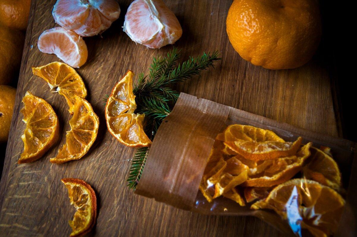 Фруктовые чипсы. Мандарин. Almaty Snack. Без упаковки на развес