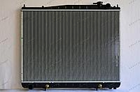 Радиатор охлаждения GERAT NS-108/2R Nissan Terrano, Pathfinder R50, Infiniti QX40