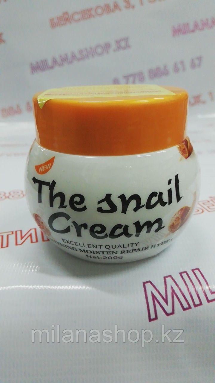 Disaar The Snail Cream 200 gr - Отбеливающий крем для лица с экстрактом улитки